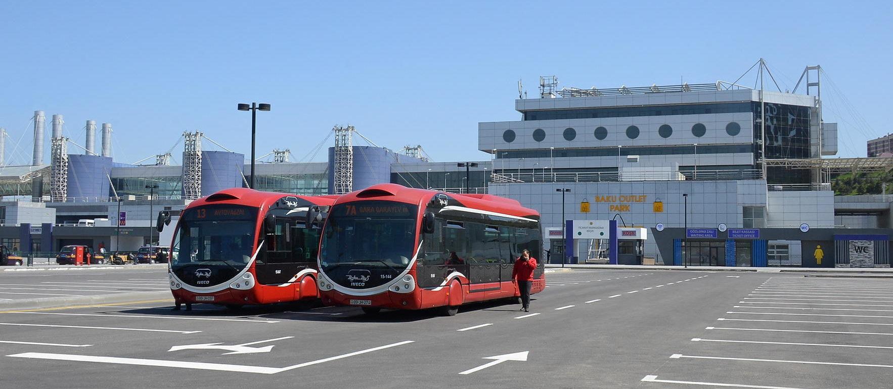 Автовокзал Баку